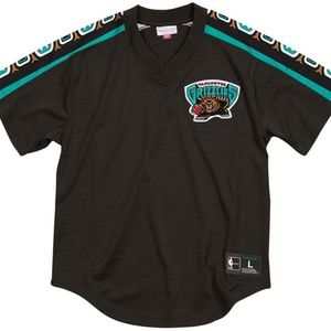 Mitchell & Ness Vancouver Grizzlies Black Mesh